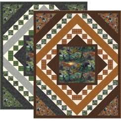 Pine Tree Country Quilts Nature's Bears Pattern PT1666