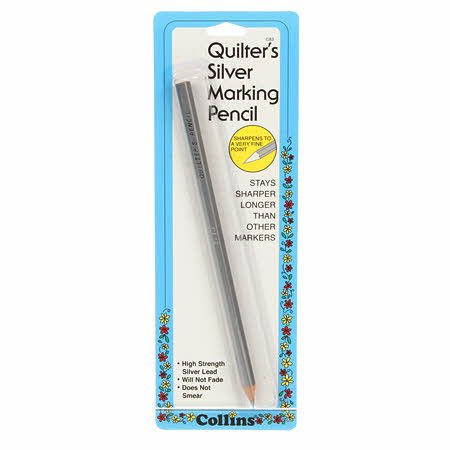 Collins Quilters Silver Pencil