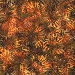 Hoffman Bali Batik 884-154 Sunflower Teak