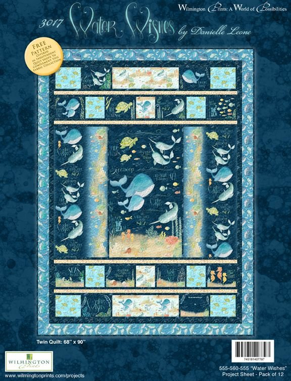 Water Wishes Quilt Kit