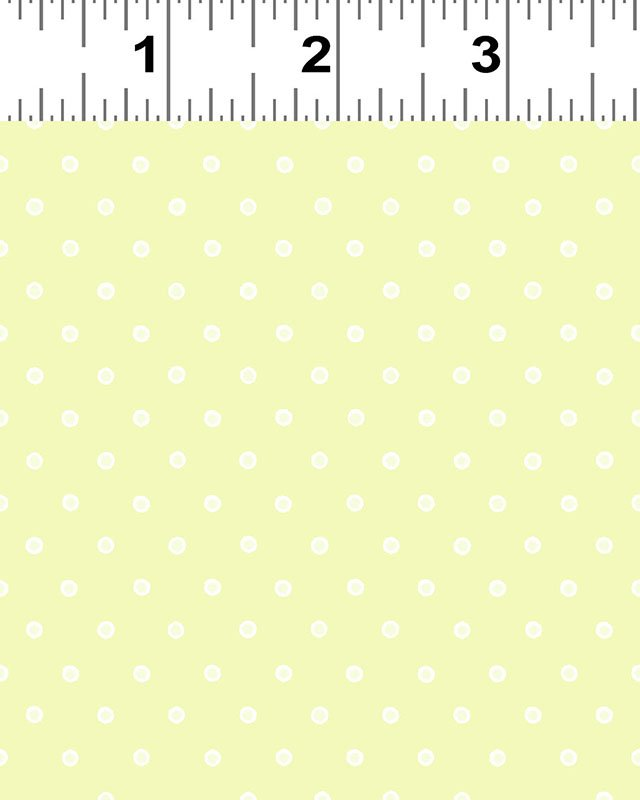 Clothworks You're All My Favorites Y2460-18 Lime Dot