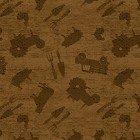 Clothworks Farmhouse Life Y2534-14 Light Brown Farm Toss