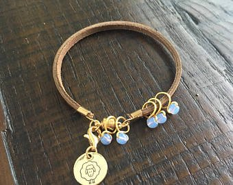 Heidi and Lana Stitch Marker Bracelet L-XL