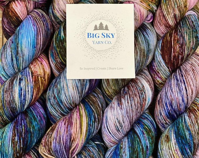Big Sky Star Sock