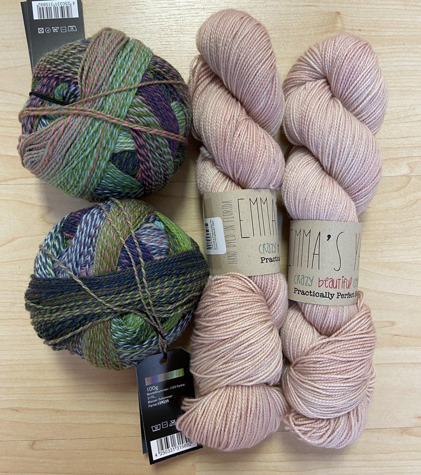Botanic Shawl Kits