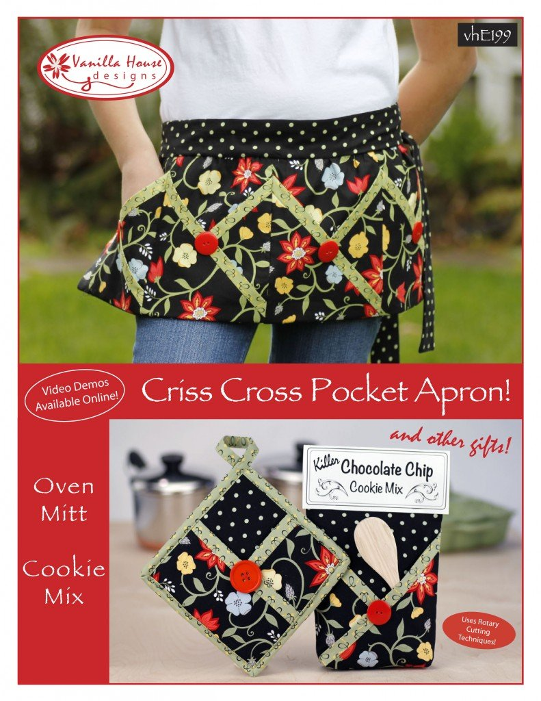 Criss Cross Pocket Apron