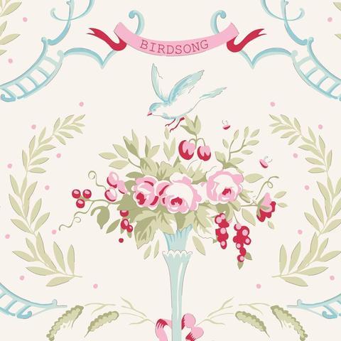 Tilda Old Rose Birdsong Dove White