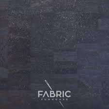 Cork Fabric - Charcoal