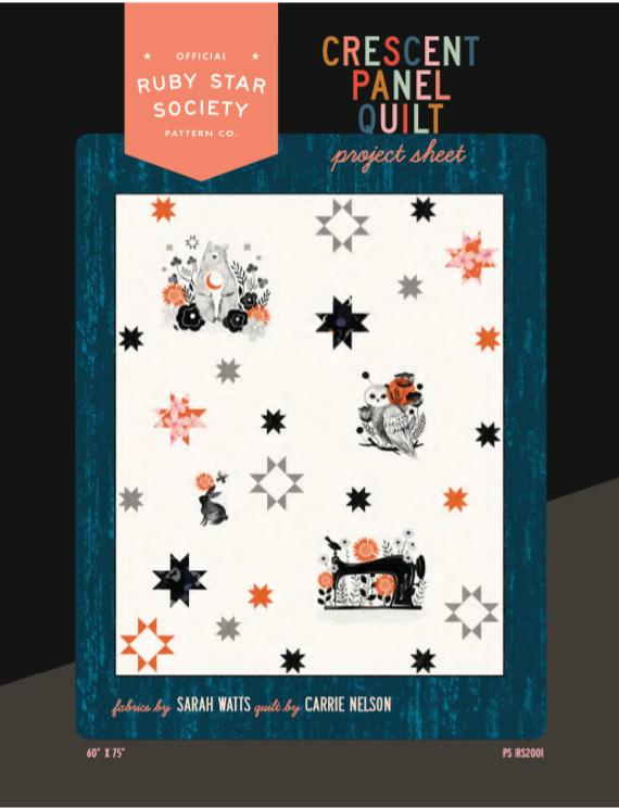 Crescent Panel Quilt Kit