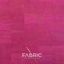 Cork Fabric - Fuchsia 36