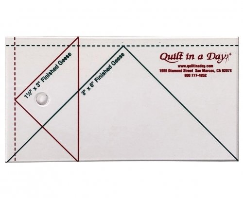 Small Flying Geese Ruler 3inx6in