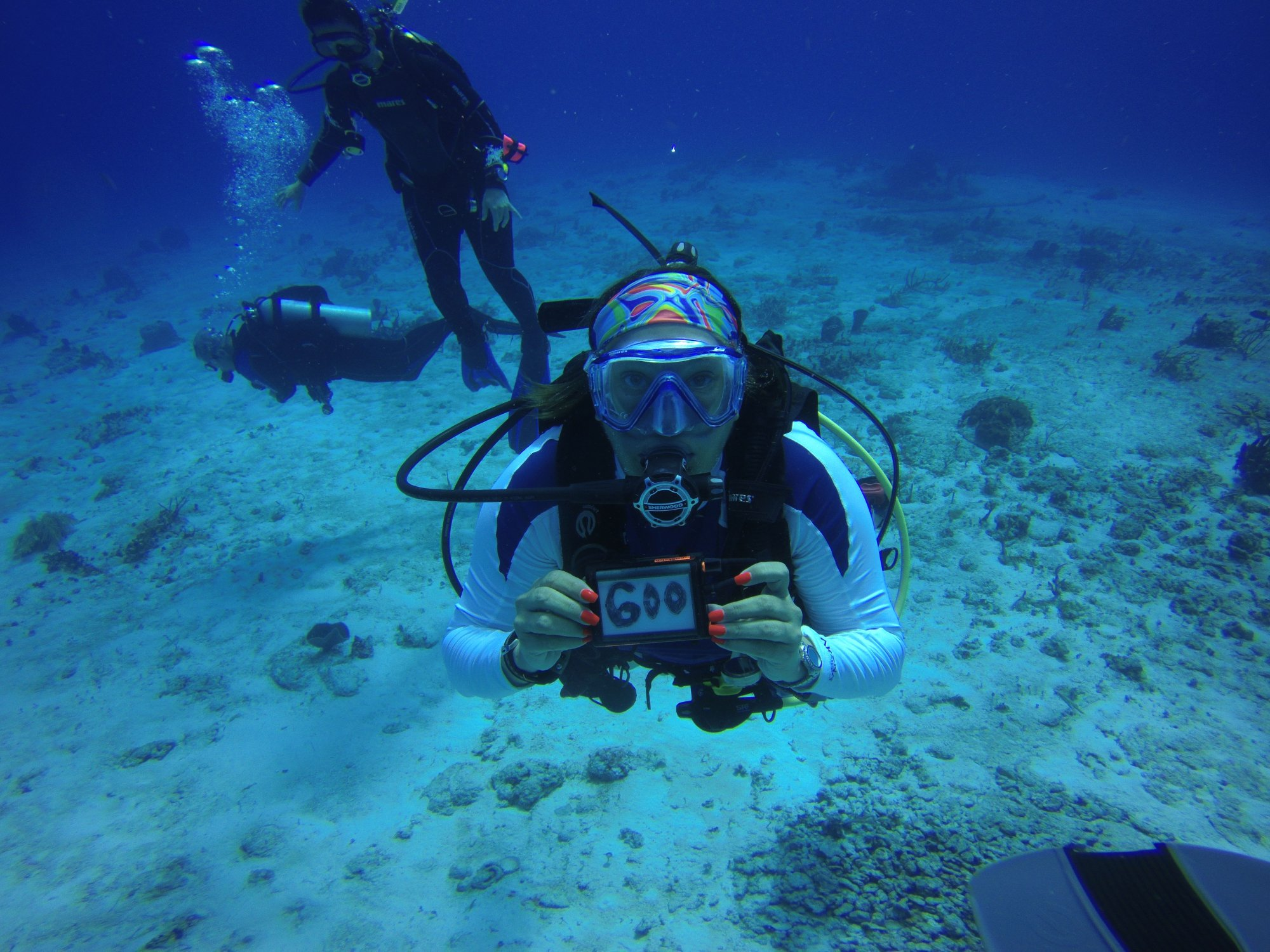 Monica S 600th Dive In Cozumel