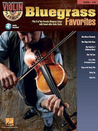 Bluegrass Favorites Violin Play-Along Volume 10