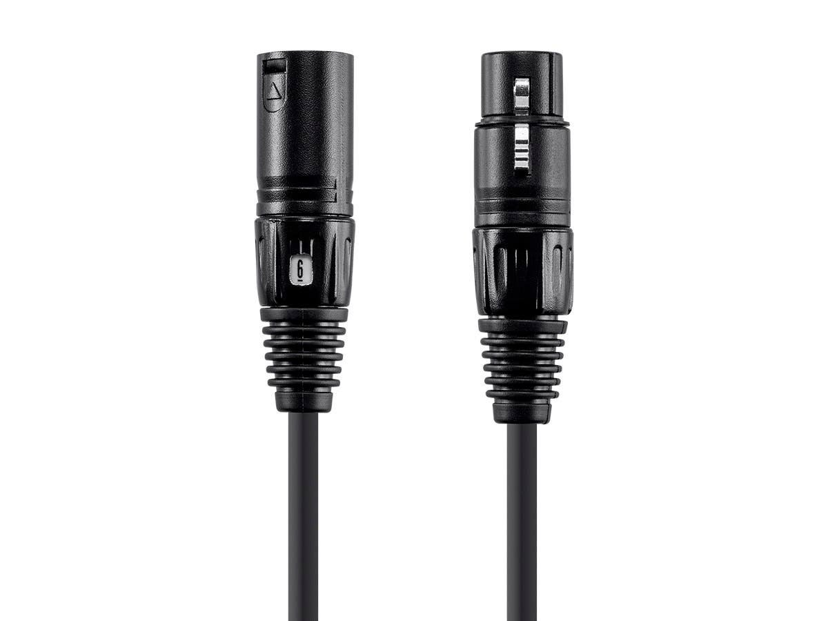 Monoprice Choice Series XLR Microphone cable with Quick ID, 25ft