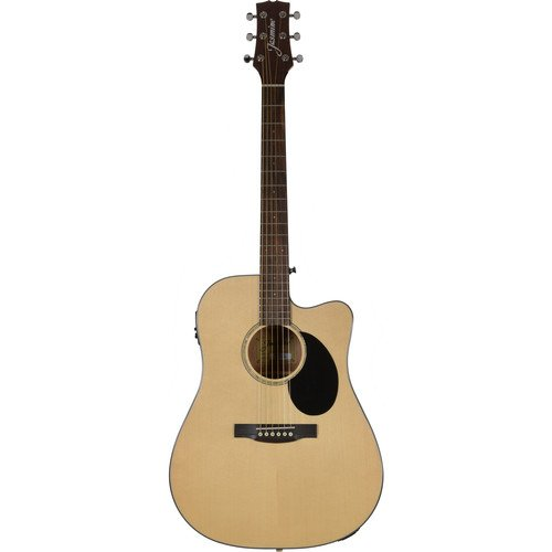Jasmine JD36CE Dreadnought AE Guitar - Natural Gloss Finish