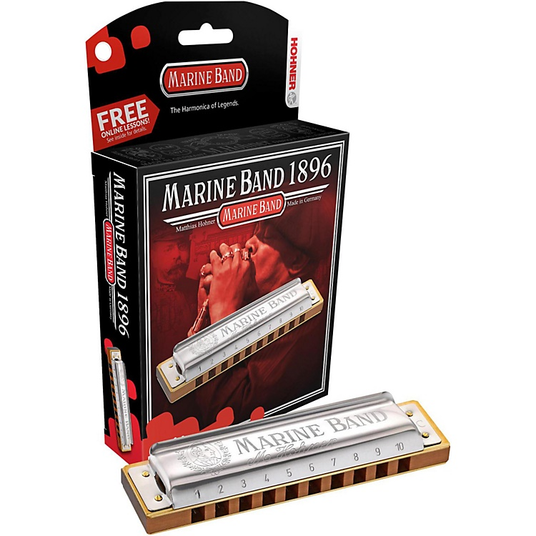 Hohner Marine Band Harmonica in Key of D