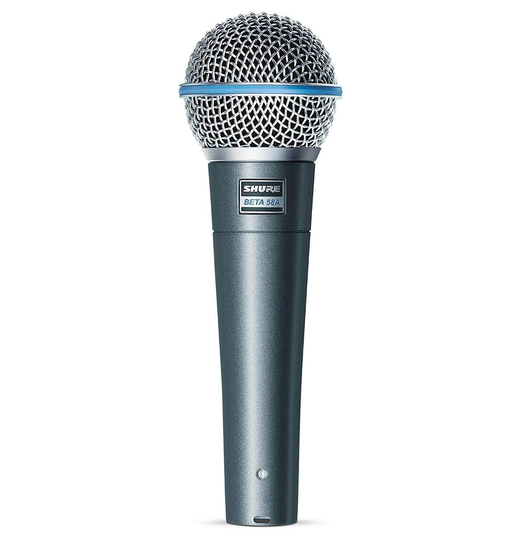 Shure Beta 58 SuperCard Dynam Vocal Mic