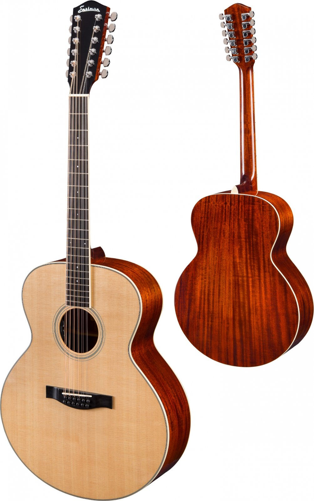 Eastman Jumbo 12 String Guitar AC330E-12