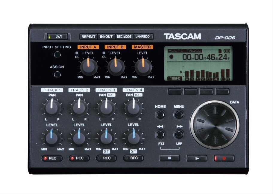 Tascam DP-006 Portable Digital Recorder