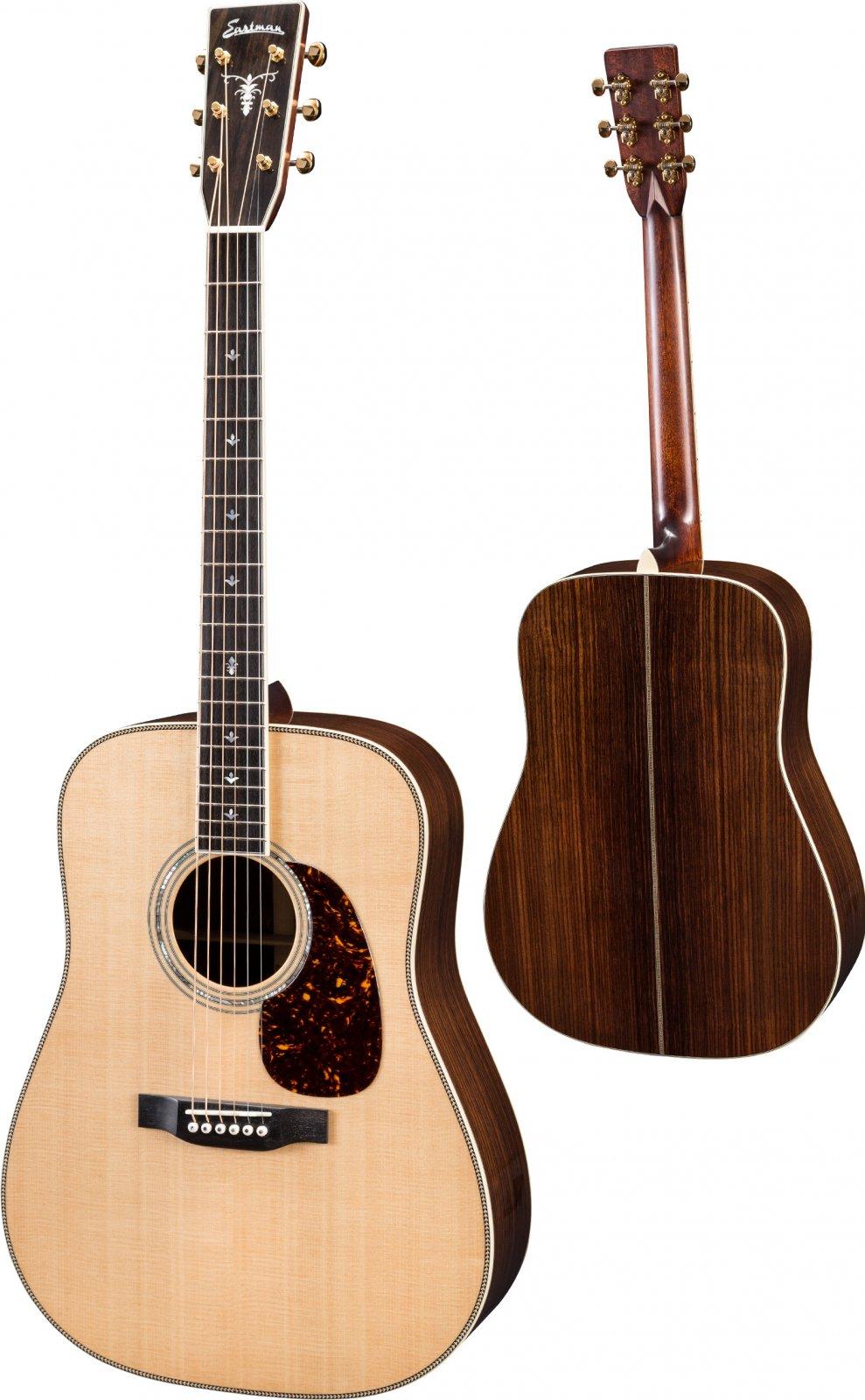 Eastman DT30D-E Double-Top Dreadnought Acoustic Guitar w/K&K Pure Mini Pickup