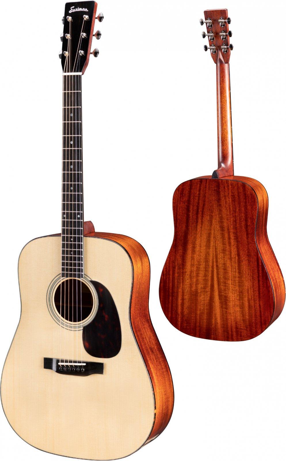 Eastman Dreadnought E10D Acoustic Guitar W/Hardshell Case