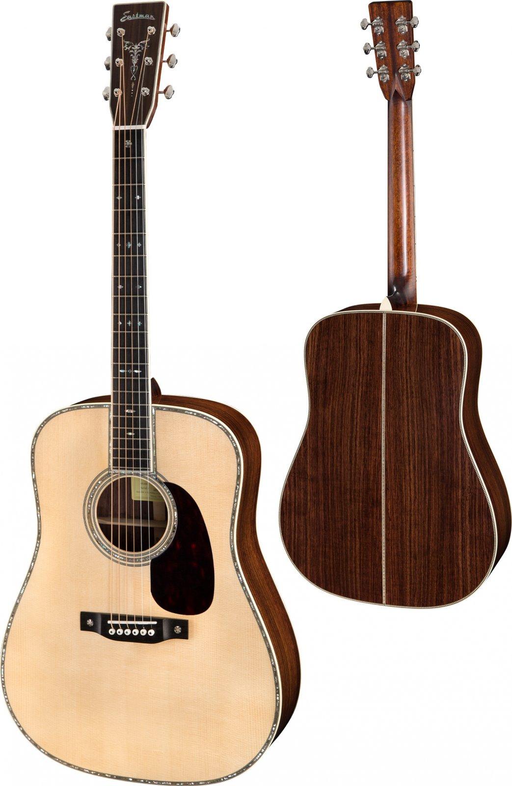 Eastman Dreadnaught E40D Acoustic Guitar W/Hardshell Case