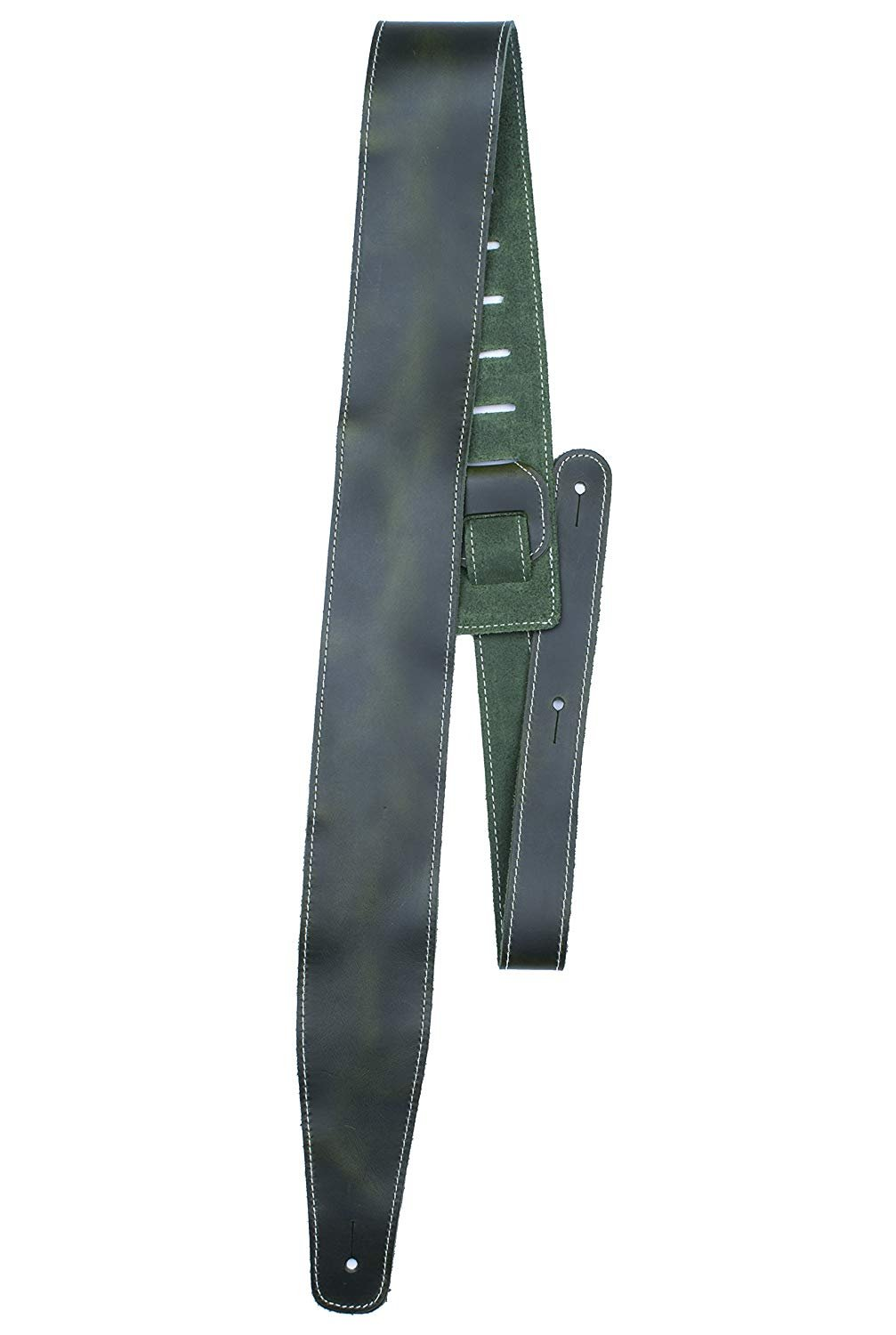 2.5 Oil Leather Series Green Gtr Strap