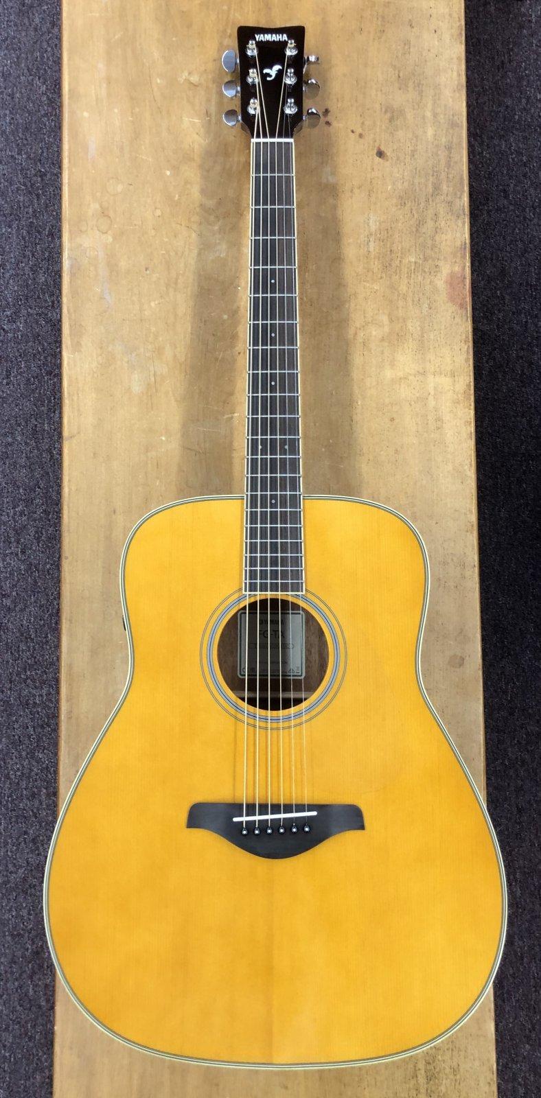 Yamaha FG-TA VT TransAcoustic Guitar - Vintage Tint