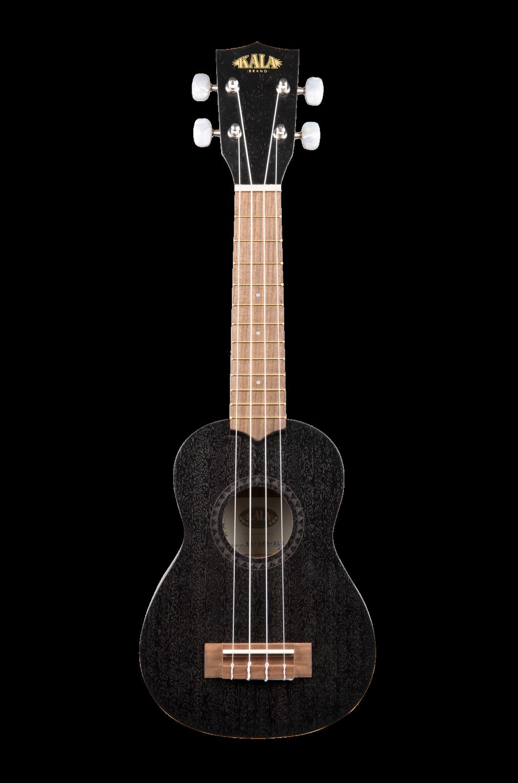 Kala KA-15S-BLK Mahagony Soprano Black Ukulele