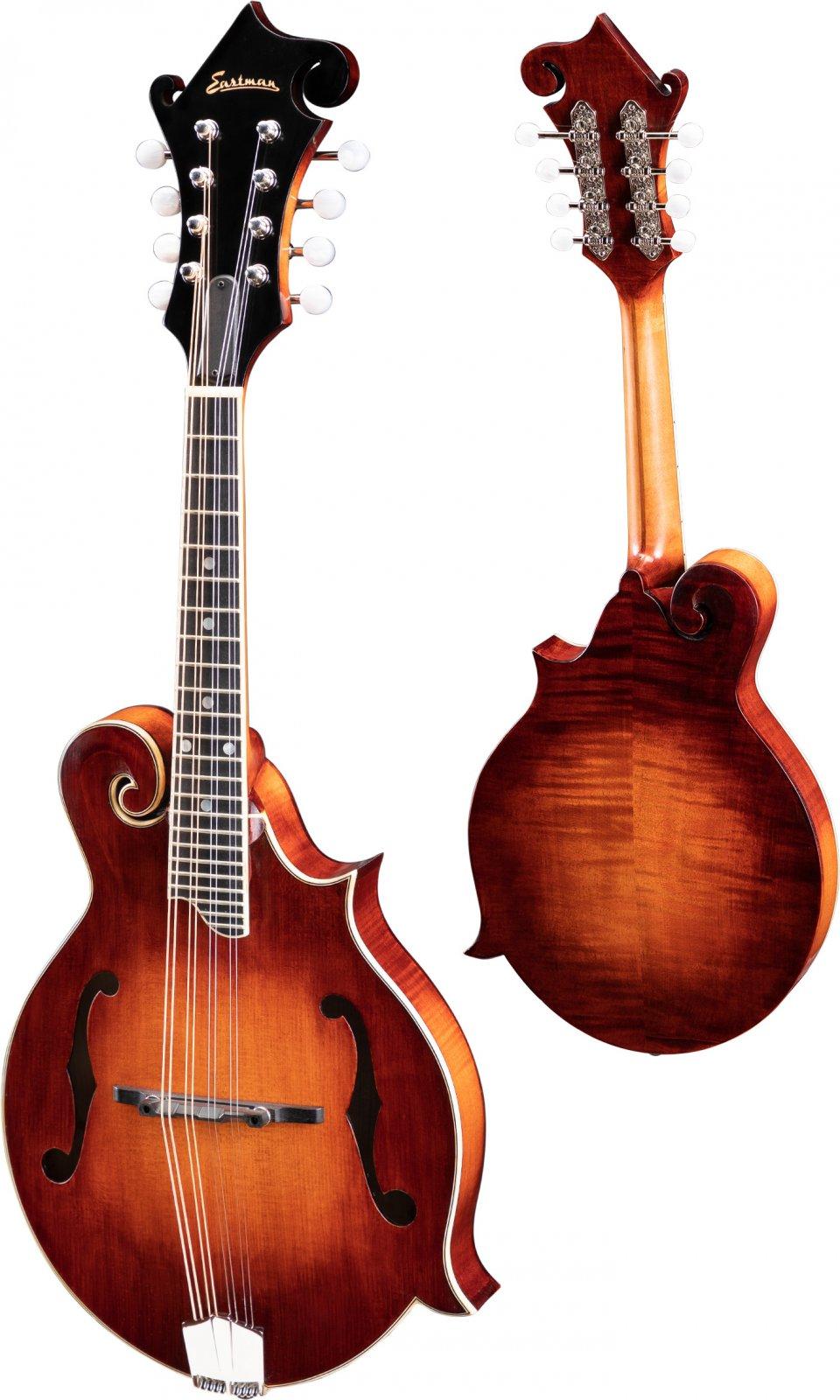Eastman MD515/v E F-Style Mandolin W/K&K Pickup & Hardshell Case