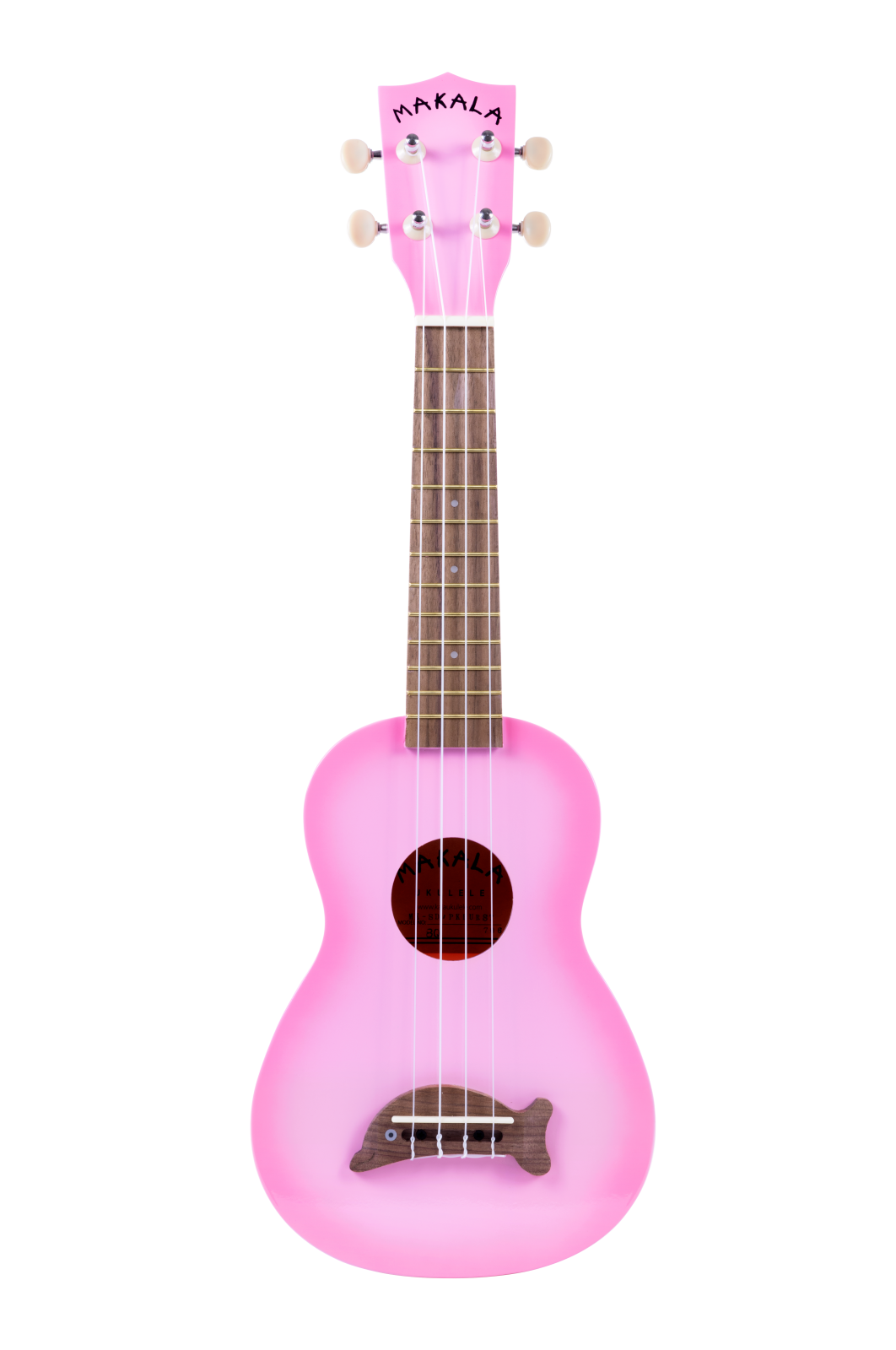 Makala DOLPHIN MK-SD/PKBURST Pink Burst - Sop.Uke