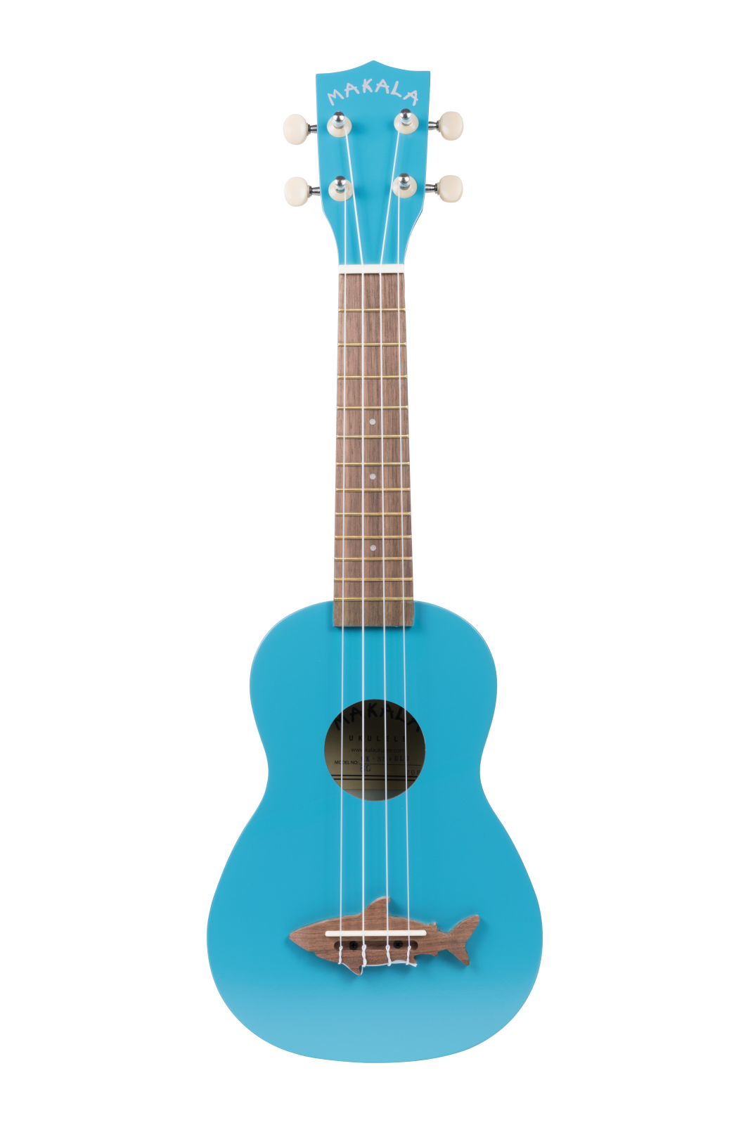 Makala SHARK MK-SS/BLU - Soprano Uke