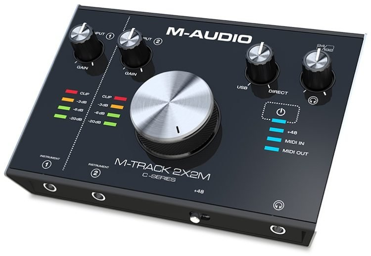 M-Audio M-Track 2X2M USB Audio Interface with MIDI