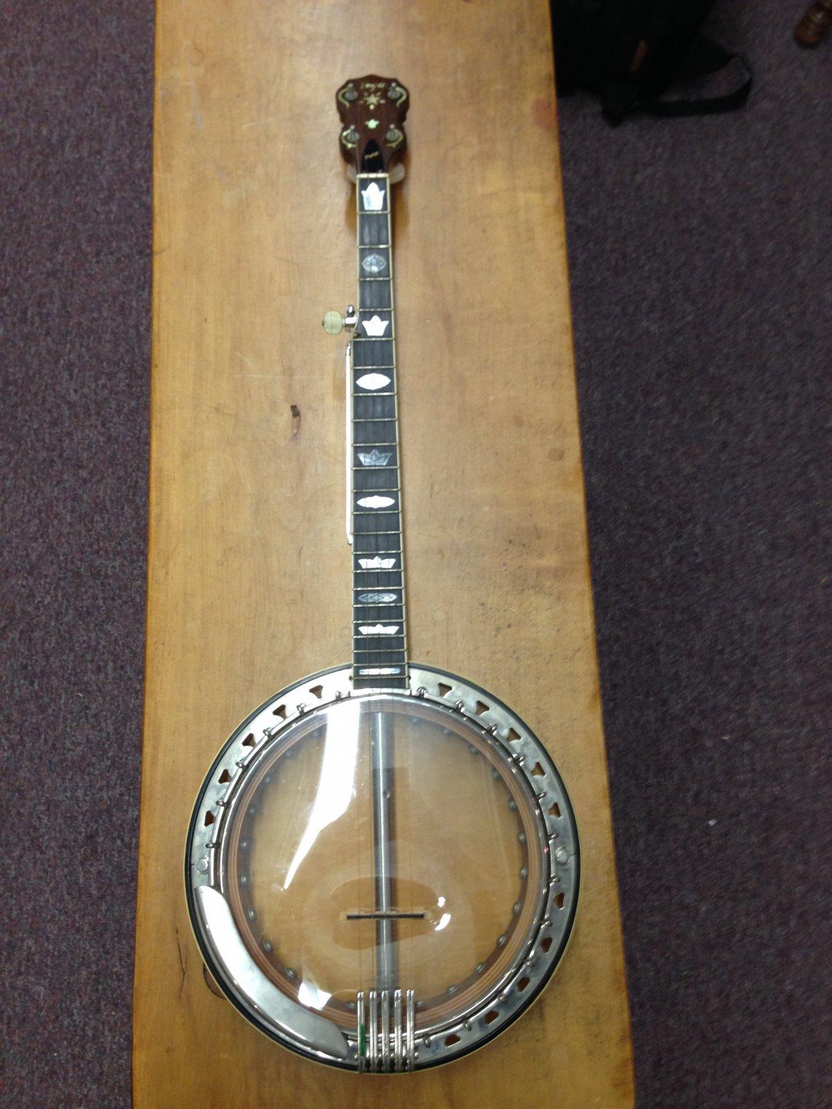 Used 1970's Vega V I P  5-String Banjo w/New Tailpiece