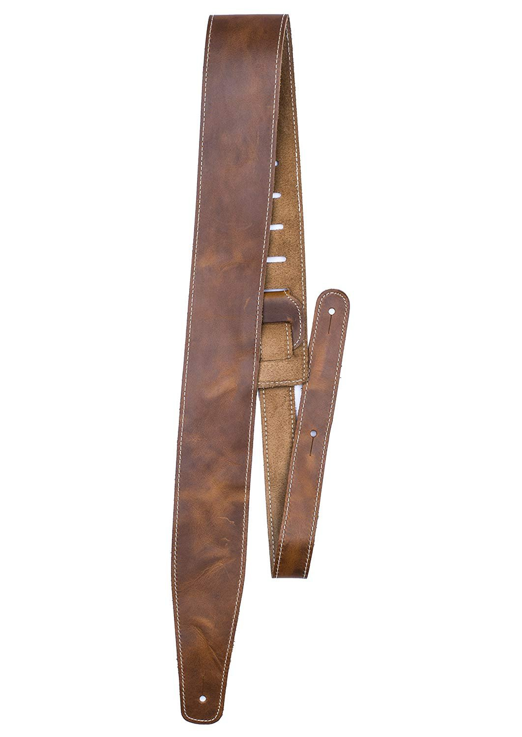 2.5 Oil Leather Series Tan Gtr Strap