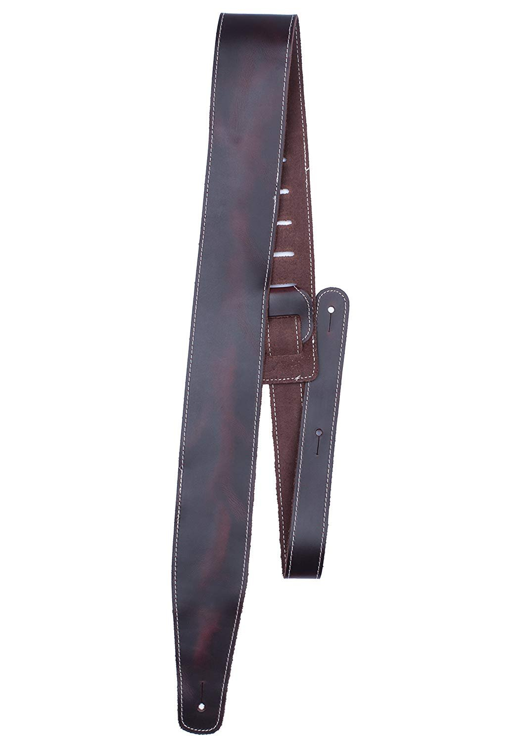 2.5 Oil Leather Series Wine Gtr Strap