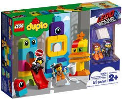 Duplo Emmet and Lucy's Visitors