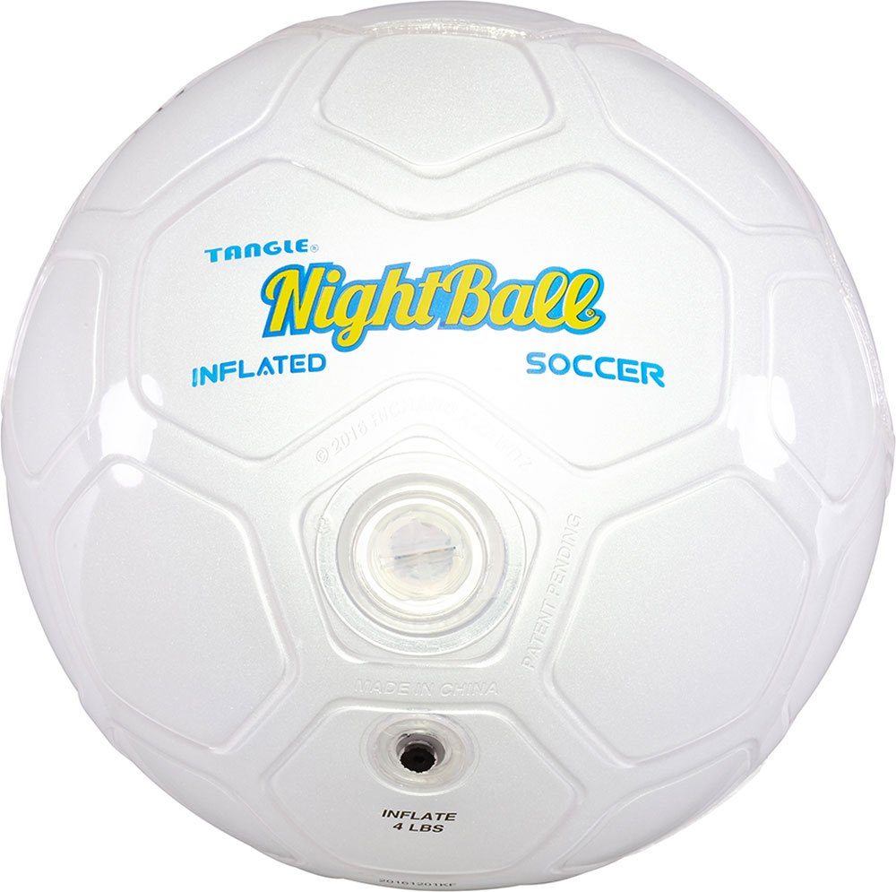 Nightball inflated Soccer Ball