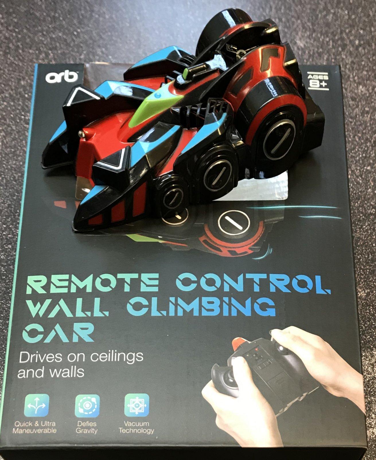Remote Control Wall Climbing Car