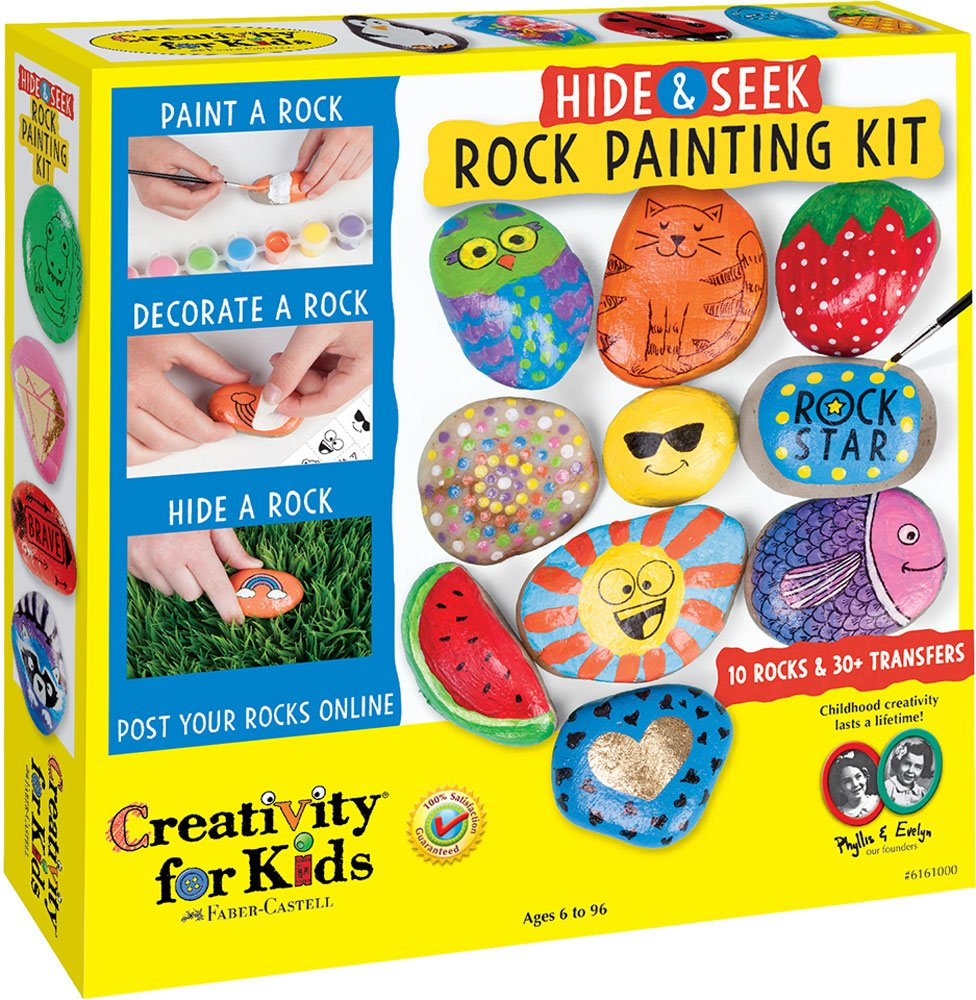 Hide & Seek Rocking Painting Kit