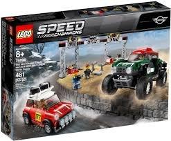Lego 1967 Mini Cooper S Rally & 2018 MINI John Cooper Works Buggy