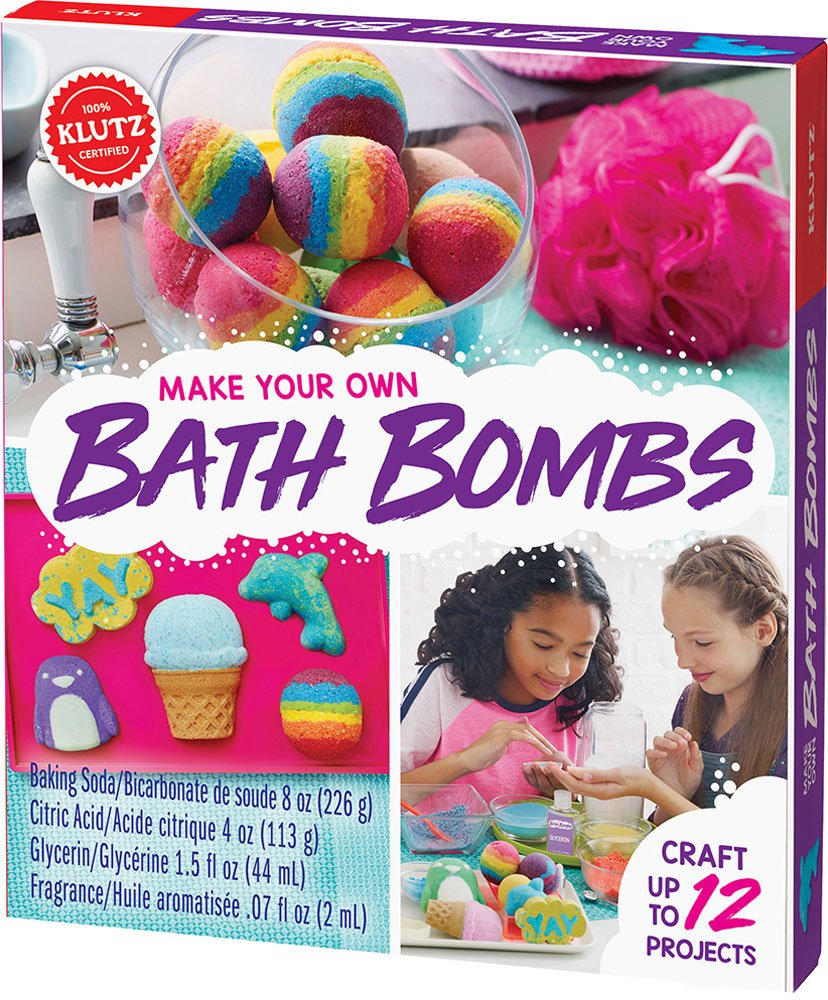 Make Your Own Bath Bombs Book