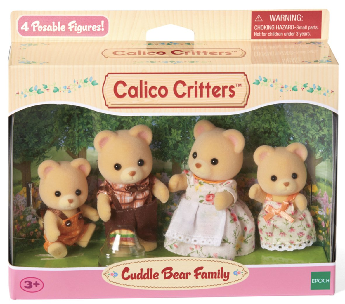 Cc Cuddle Bear Family
