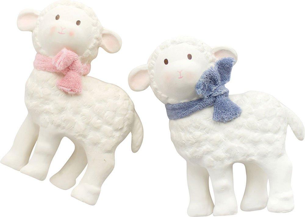 Lila Lamb Stacker & Squeaker