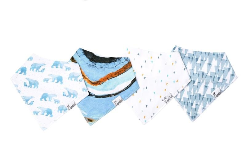 Arctic Bandana Bib Set