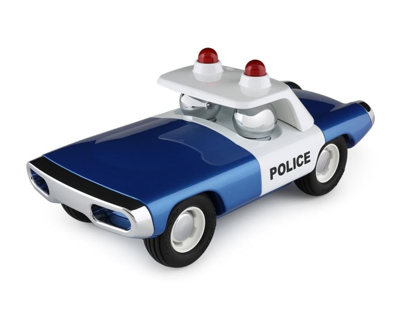 Blue Maverick Heat Police Car Playforever