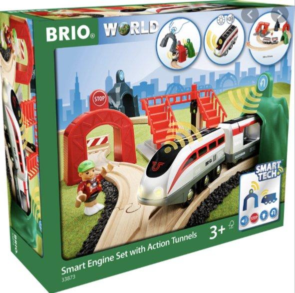 Brio Smart Engine Set w/Action Tunnels