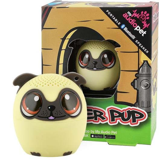 Power Pup the Pug Puppy Speaker