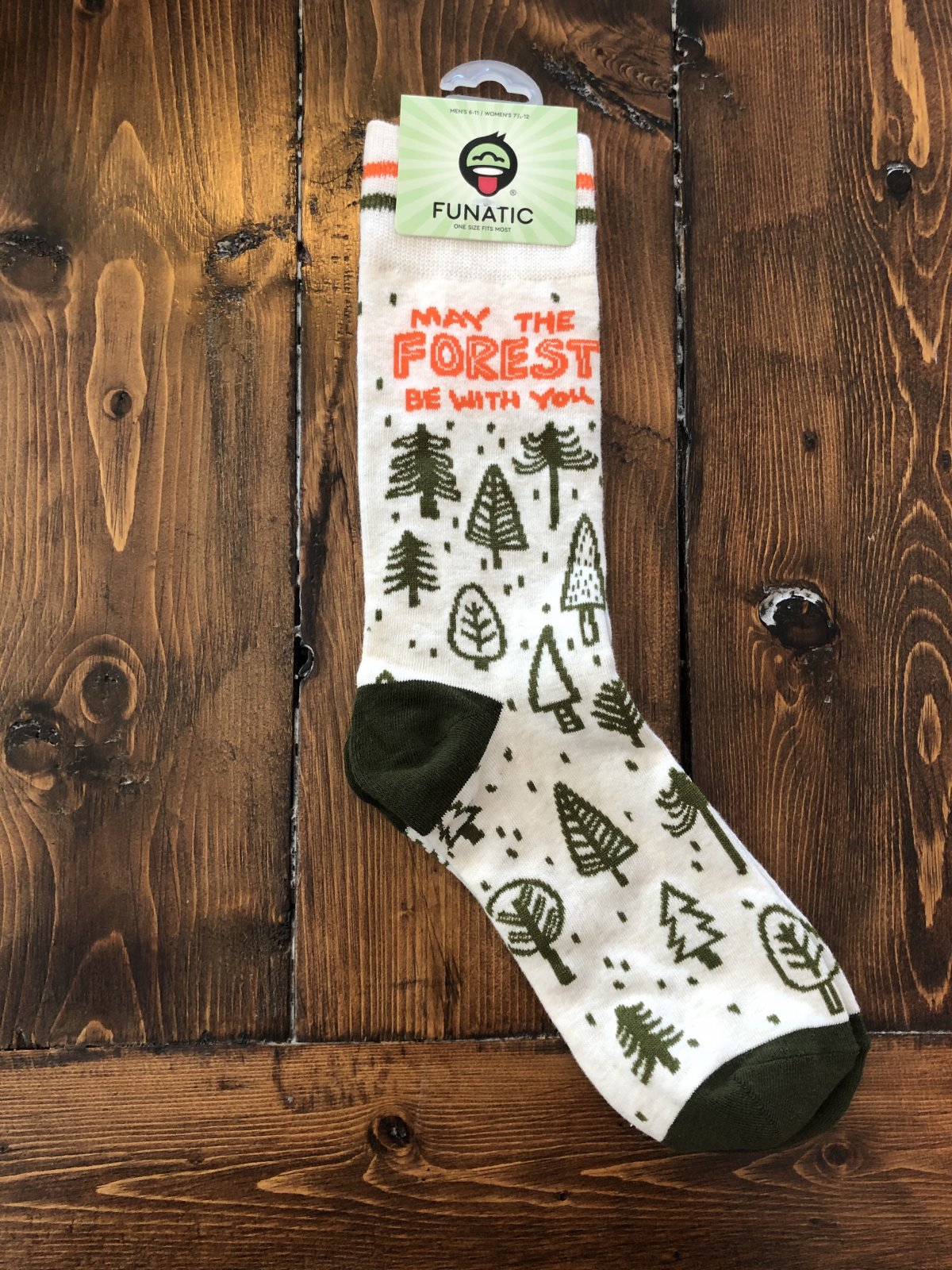May the Forest be with You Socks