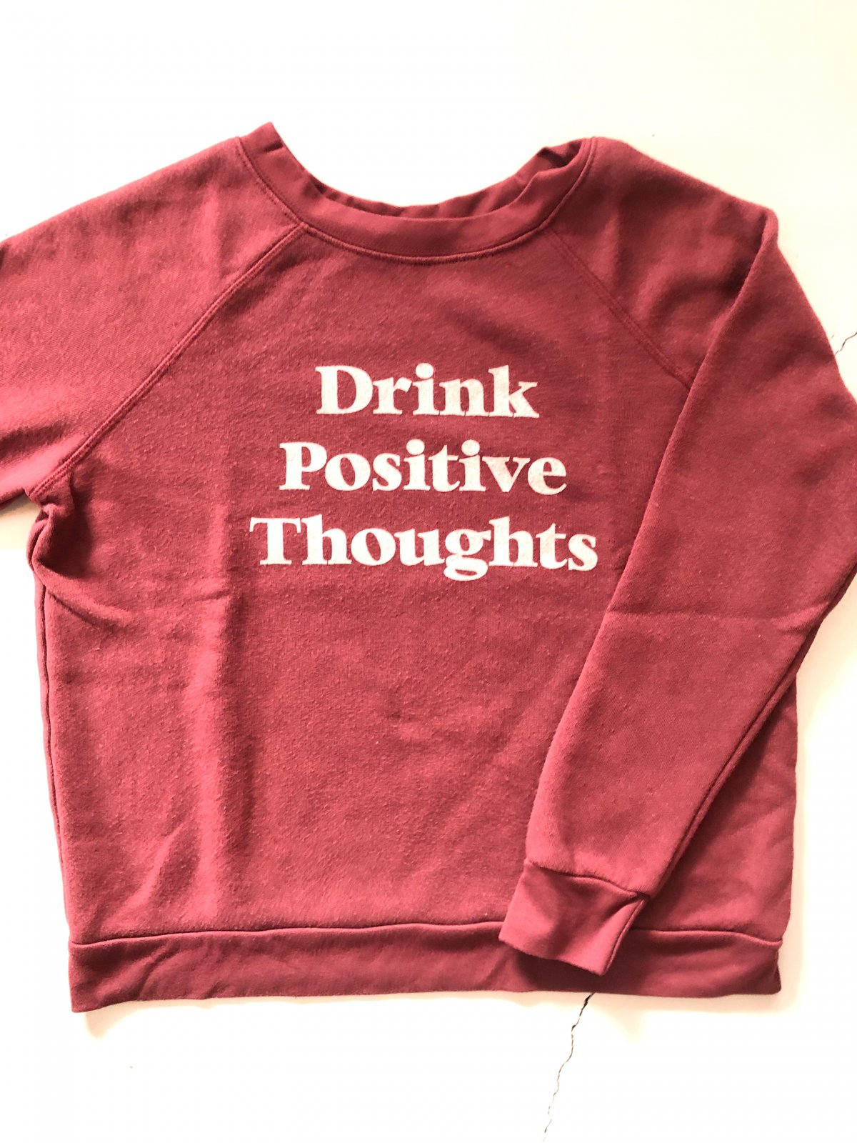 Project Social T Drink Positive Thoughts
